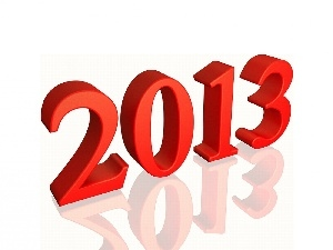 2013, numbers, New Year