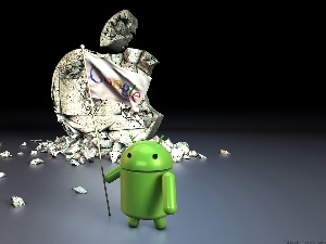 Apple, 3D, Android