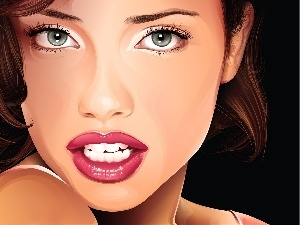 graphics, Adriana Lima