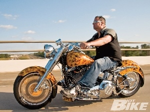 Airbrush, Harley Davidson Fat Boy
