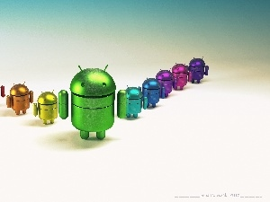 Android, color