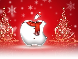 Christmas, Apple, Christmas
