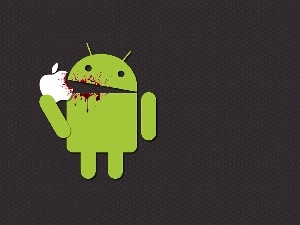 Apple, blood, Android, logo, Apple