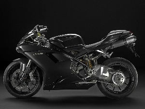 Arm, Aluminium, Black, Ducati 848