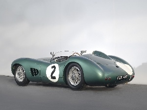 Aston Martin DBR1, Back