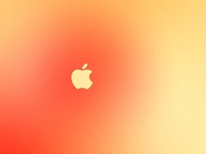 background, Yellow, Apple, orange