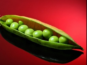 background, Red, Green, peas