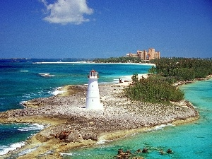 Bahamas, Islands, Lighthouse, maritime