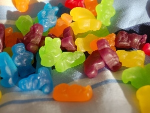 jellies, bear, color