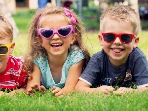 bespectacled, ##, joyful, Meadow, Kids