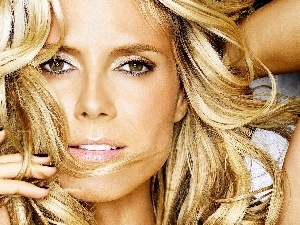 Blonde, Heidi Klum, lovely