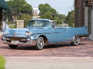 blue, Cadillac Eldorado, The historic car