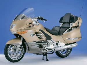tourism, BMW K1200LT