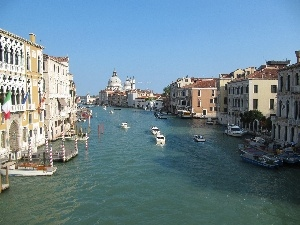 boats, canal, Beauty, Venice