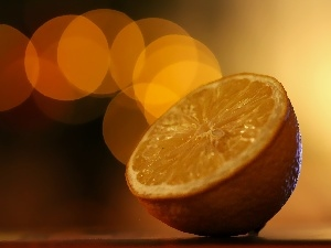 fruit, Bokeh, Lemon