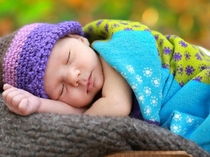 Baby, Bonnet, Sleeping