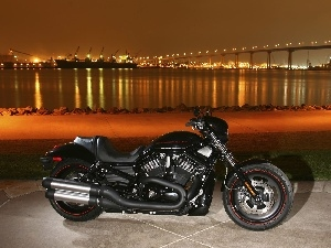 bridge, Harley Davidson Night Rod Special