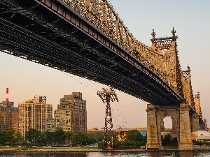 bridge, New York, Brooklyn
