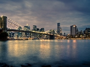 Brooklyn Bridge, Nowy York, bridge