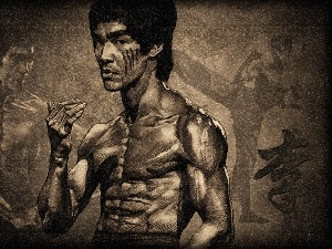 Drawing, Bruce Lee