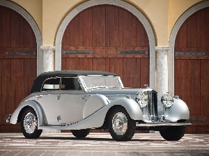Cabriolet, classic, Bentley Derby