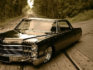 ##, chrome, Black, Cadillac DeVille