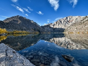 California, USA, Mountains, Convict Lake