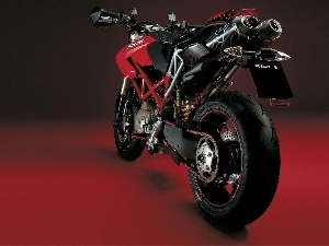 carbon, exhaust, Ducati Hypermotard 1100, system
