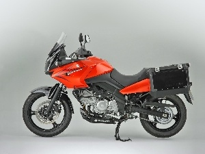 Central, footer, Suzuki DL650 V-Strom