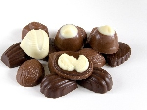White, Chocolates, chocolate