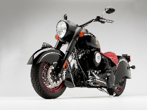 Chopper, Indian Chief Blackhawk Dark