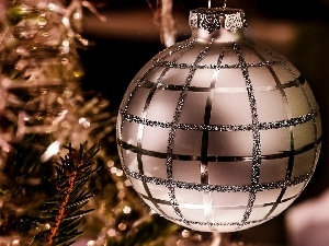 Christmas Tree, bauble, decoration