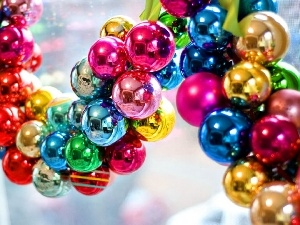 baubles, christmas, color