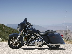 elements, Chrome, Harley-Davidson Touring Street G