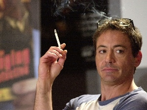 Cigarette, Robert Downey Jr