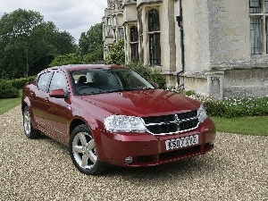 claret, Dodge Avenger, Automobile