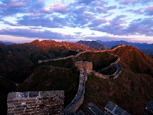 clouds, Great Chinese Wall