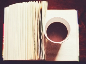 coffee, Book
