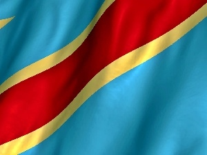 Congo, Republic, flag, Democratic