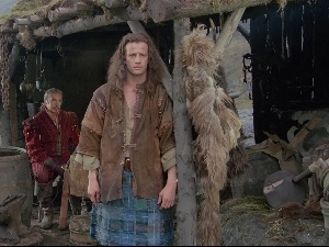 Connor MacLeod, hut, Christopher Lambert