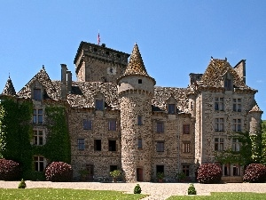 de Pesteil, France, Castle