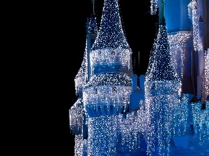 Lights, decoration, Castle