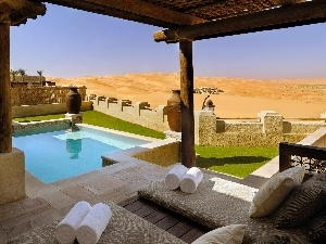 Desert, Pool, Hotel hall, Spa