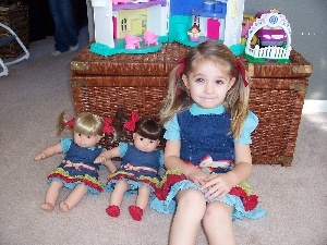 dolls, ponytail, toys, girl, dresses, Smile