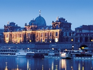 Dresden, Arts, academy, Germany, Fine