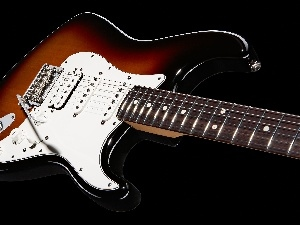 Electric, Fender Stratocaster, Guitar