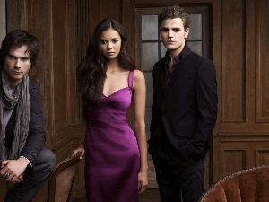 Elena, Damon, The Vampire Diaries, Stefan