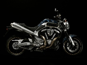 Engine, system V, Yamaha MT-01