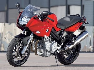 BMW F800S, Red