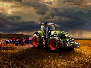 Field, agrimotor